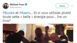 Ce tweet de Michaël Youn sur la bagarre Booba/Kaaris ne passe