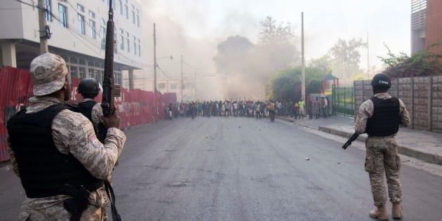 Des manifestations violentes ont cours depuis plusieurs jours en Haïti.