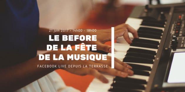 Suivez le Before de la Fête de la musique en direct sur notre page Facebook.