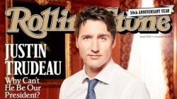 Justin Trudeau en la portada de Rolling Stone, la comparación con Trump es