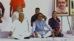 CM Shivraj Singh Chouhan Begins Indefinite Fast To Restore Peace Among Agitating Farmers In Madhya