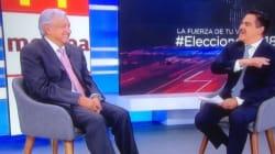 Así se puso la entrevista de López Obrador