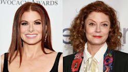 Debra Messing Would Ride An Elevator With Trump Over Susan