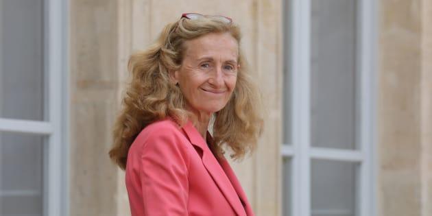Nicole Belloubet à l'Elysée le 5 septembre 2018.