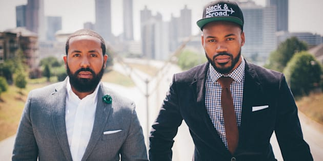Black & Abroad founders Kent Johnson and Eric Martin.