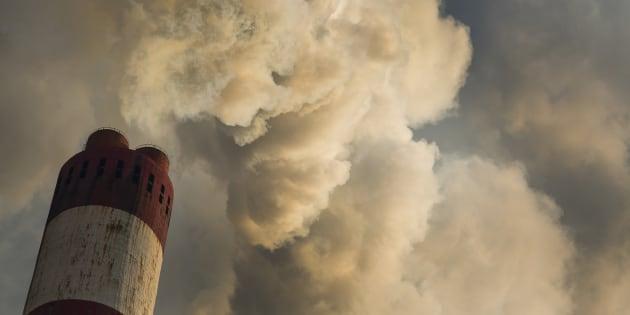 CO2 Polution chimney