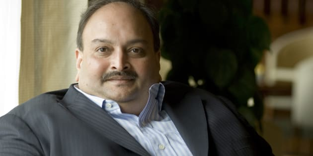 A file photo of Mehul Choksi.