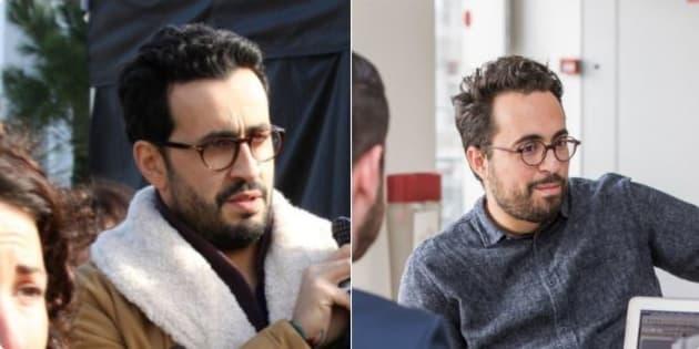 Petite précision: à gauche, c'est Jonathan Cohen et à droite, c'est Mounir Mahjoubi.