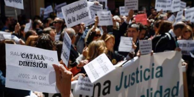 Concentración de jueces y fiscales en mayo.