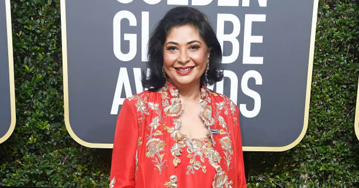 meher tatna had a good reason for not wearing black at 2018 golden