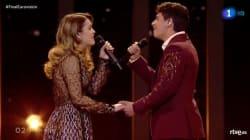 Así ha sido la actuación de Alfred y Amaia en Eurovisión