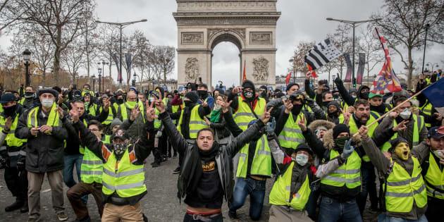 L'acte IV de la mobilisation des gilets jaunes a rassemblé quelque 125.000 personnes sur l'ensemble du territoire ce samedi 8 décembre.