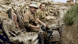 Rarely Seen First World War Photos Brought To Life In