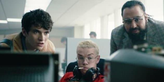 Les trois acteurs déjà connus de cet épisode interactif de Black Mirror de la saison 5: Will Poulter,Fionn Whitehead et et Asim Chaudhry.