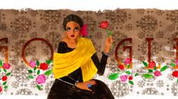 Google le rinde homenaje al talento y la valentía de la 'femme fatale' mexicana: Katy