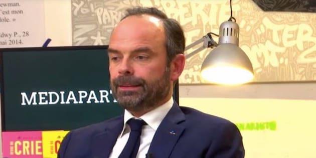"""Edouard Philippe a défendu sa politique face aux """"belles âmes"""" ce 22 novembre 2017."""