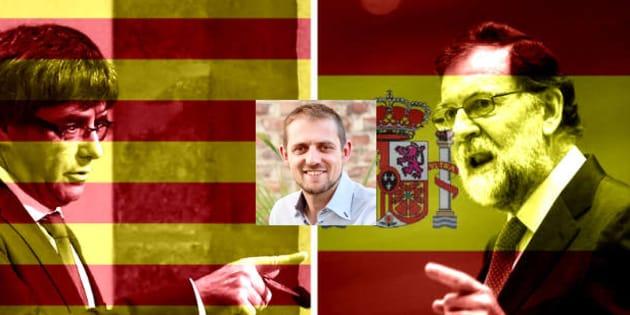 """""""Rajoy et Puigdemont ont été médiocres"""": la consternation de cet eurodéputé français élu en Espagne."""