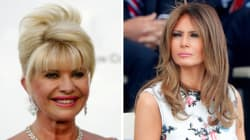 Ivana Trump se llama a sí misma 'primera dama' y así reaccionó