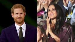 Le prince Harry et sa petite-amie Meghan Markle réunis en public pour la première