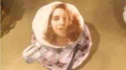 Le selfieccino, ou quand le latte art atteint des sommets de