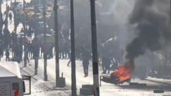 Les images des violents affrontements entre police israélienne et