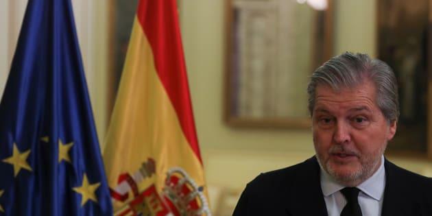 El portavoz del Gobierno y ministro de Educación, Íñigo Méndez de Vigo. REUTERS/Sergio Perez