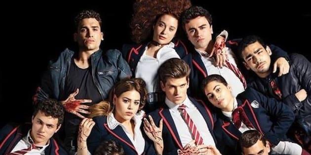 Personajes de la serie 'Élite'.