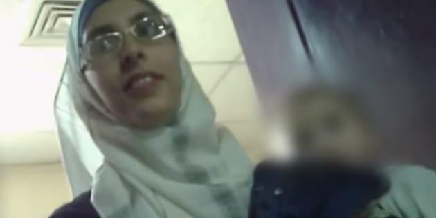 Mélina Boughedir lors de son procès, le 3 juin 2018.