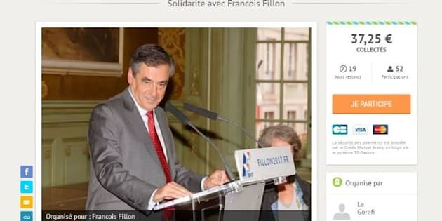 Le Gorafi lègue sa cagnotte d'aide à Fillon de 3700 euros à des associations.