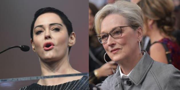 "Rose McGowan attaqueMeryl Streep et dénonce son ""silence"" dans l'affaire Weinstein"