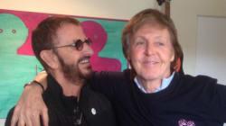 Ringo Starr et Paul Mccartney réunis en