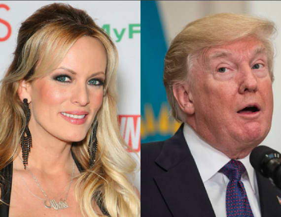 Report: Porn star claims yearlong affair with Trump