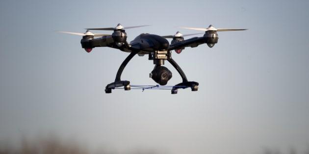 Panique à cause d'un drone — Arabie saoudite