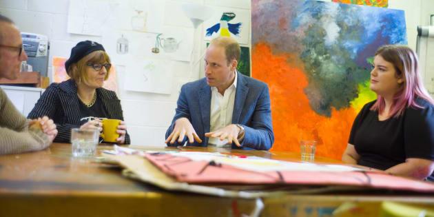 Britain's Prince William, Duke of Cambridge visits the Spitalfields Crypt Trust in St Leonard's Church, Shoreditch, London, Britain September 19, 2017. REUTERS/David Rose