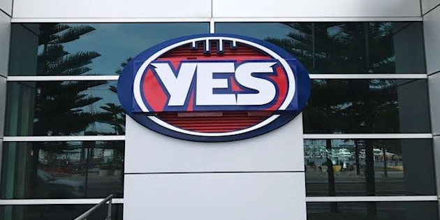 AFL redesigns logo to support 'Yes' campaign