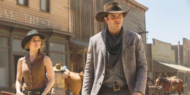 Les décors de la série de HBO détruits par le feu — Westworld