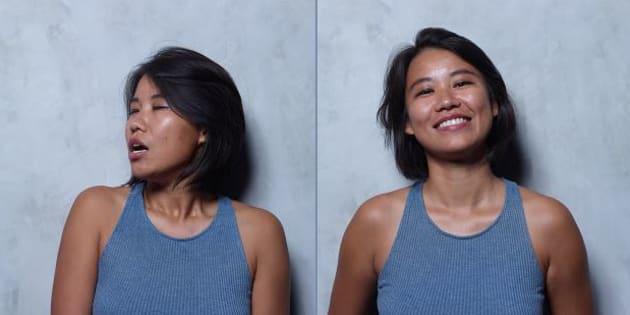 Contre la méconnaissance du plaisir féminin, il photographie des femmes avant et après un orgasme
