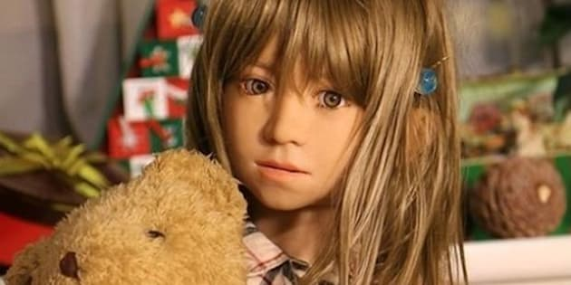 A child sex doll, which is illegal in Australia.