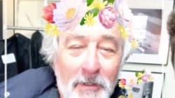 À 73 ans, Robert De Niro s'essaie aux filtres