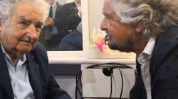 Beppe Grillo incontra Pepe Mujica:
