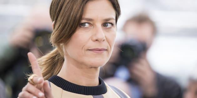 Marina Fois s'est confiée sur un casting qui aurait pu mal tourner dans les pages du magazine Society (Photo: Marina Foïs à Cannes en 2018).