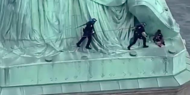 Faits divers: L'île de la statue de la Liberté évacuée