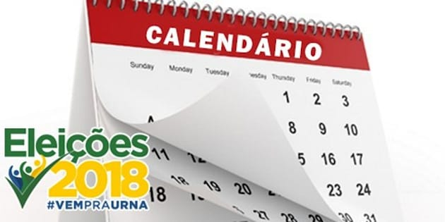 Fique atento: primeiro turno será dia 7 de outubro e o segundo, dia 28 do mesmo mês.