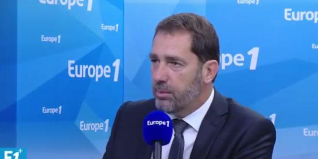 """Christophe Castaner a estimé que le choix de François Bayrou """"simplifie les choses""""."""