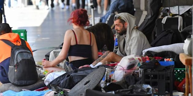 The amount of Australians sleeping rough in Melbourne's CBD has become an increasingly pressing issue for the council and state government.