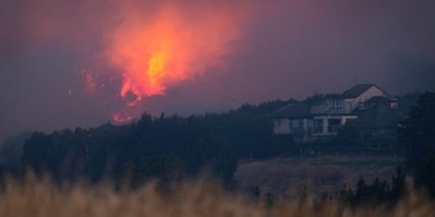 The fires have already claimed the life of one man. At least eleven homes have now been destroyed.
