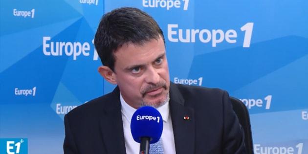 """Manuel Valls reproche à Jean-Luc Mélenchon d'avoir voulu """"passer un seul message: dire que Manuel Valls est l'ami des Juifs""""."""