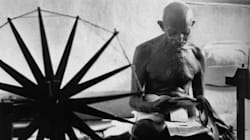 Gandhiji's 1946 Picture With A Charkha At Yerwada Jail Makes It To The '100 Most Influential Photos of All