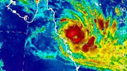 Cyclone Debbie Bears Down On North Queensland