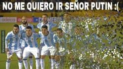Golean a Argentina en la cancha y con los